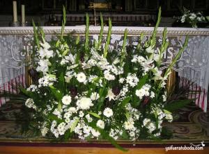 Centro de flores para Iglesia
