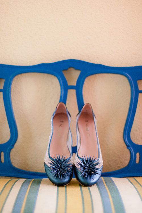 Zapatos azules para tu boda