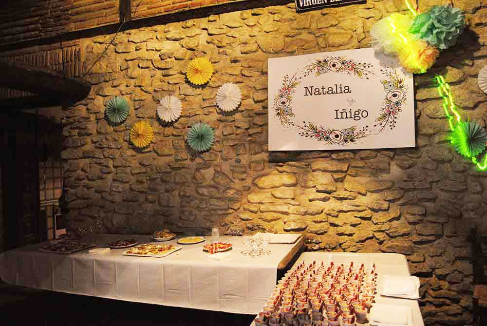 Catering de la boda