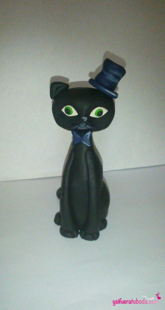 Figura de gato personalizada
