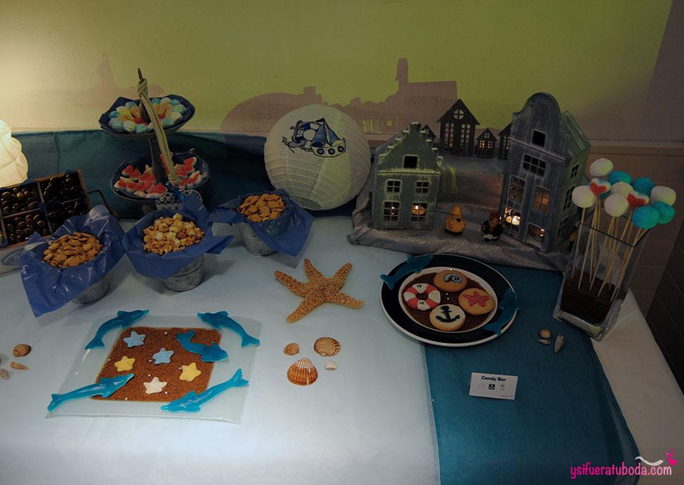 Candybar de gominolas en el Restaurante Olárizu